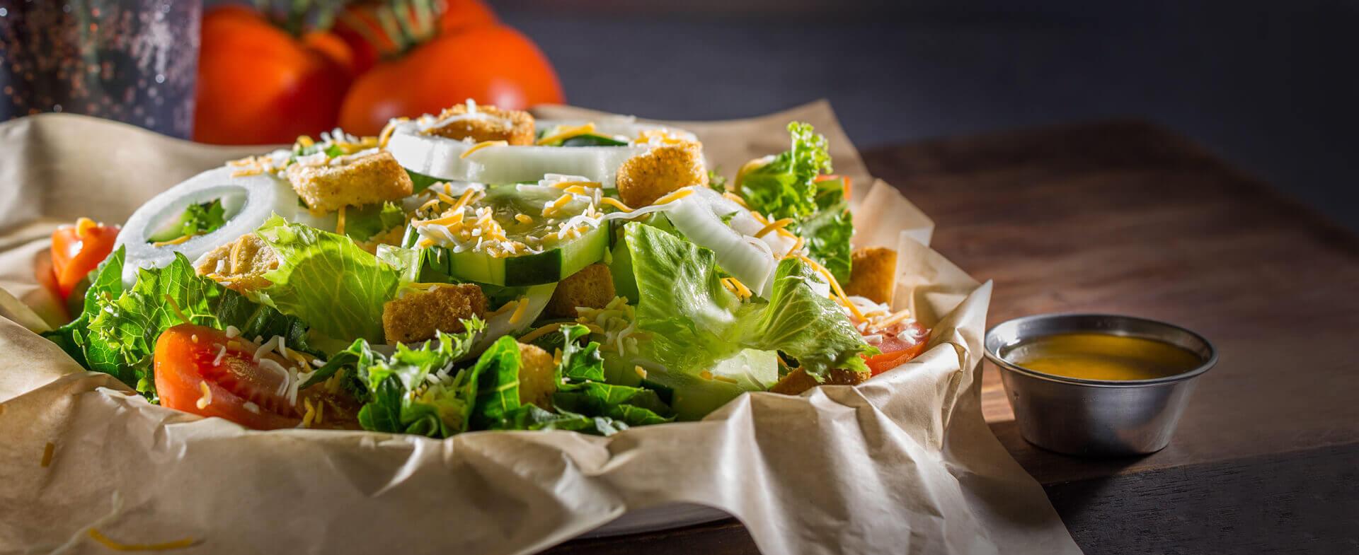 Garden Salad at Wayback Burgers