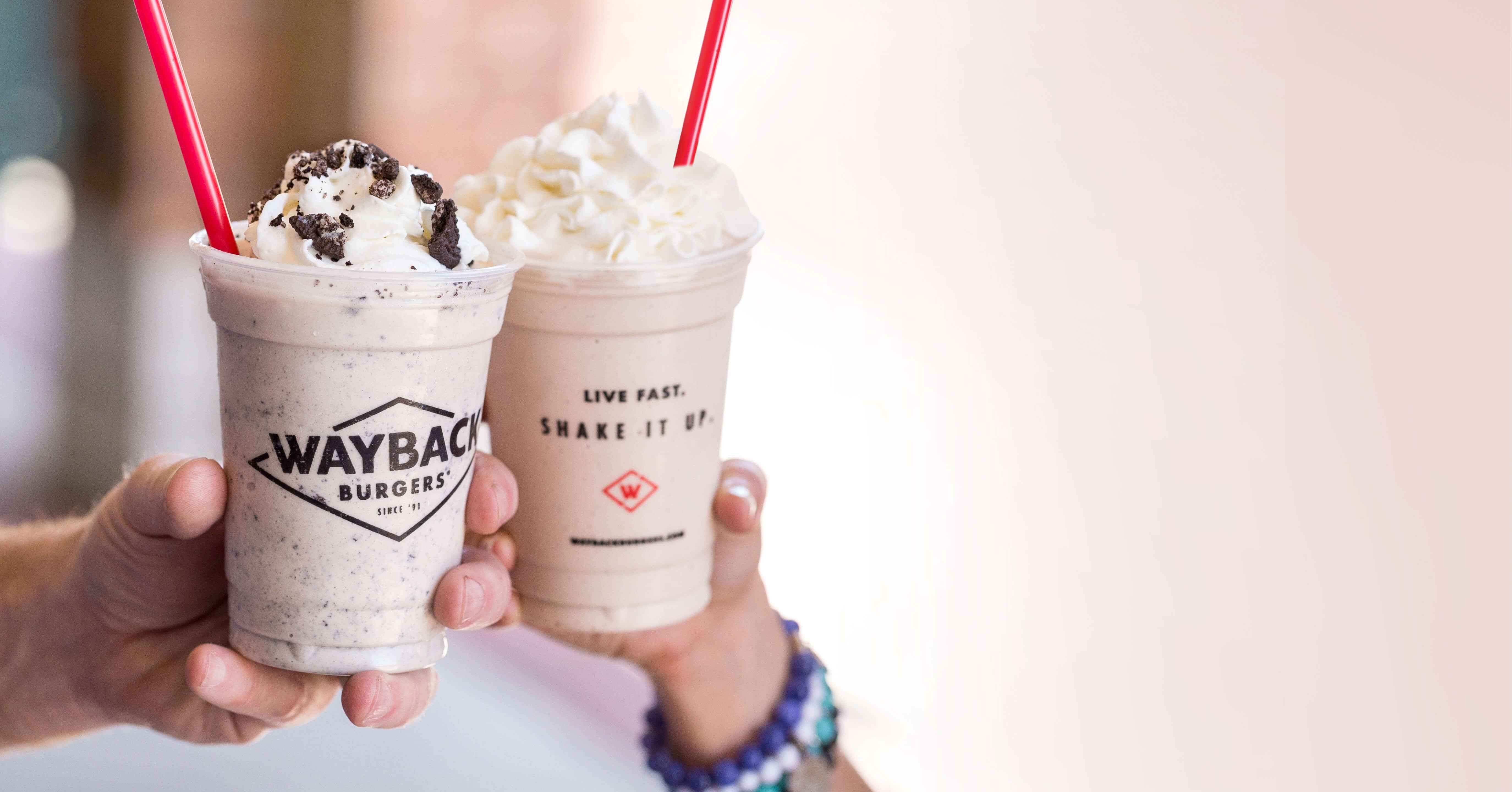 Half-price Milkshakes